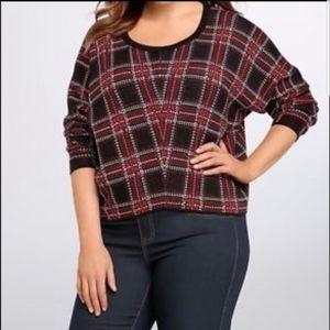 Torrid Plaid Sweater